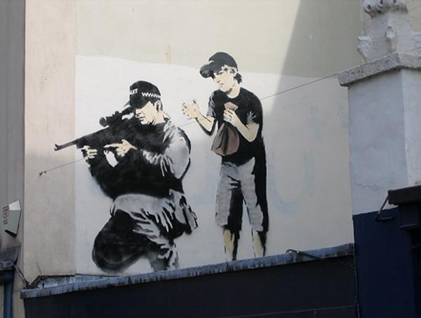 Banksy Creative Tempest