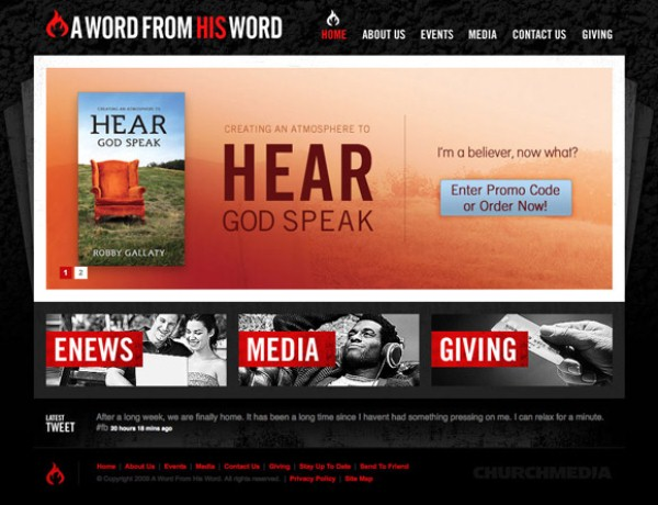 Professional Web Design | Church Media | Creative Tempest