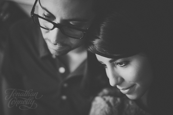 Engagement photography by Jonathan Connolly